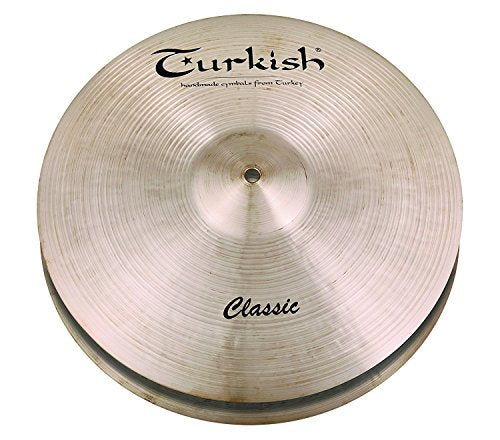 Turkish Cymbals 14-inch Classic Hi-Hat Heavy