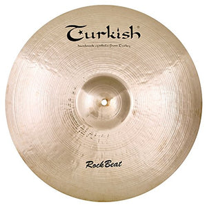 "Turkish Cymbals 21"" Rock Beat Crash/Ride"