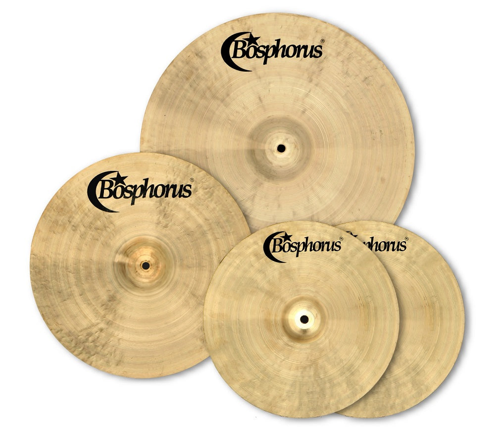 Bosphorus Basic Cymbal Pack Box Set (14HH-16CRS-20R)