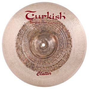 "Turkish Cymbals 14"" Clatter Crash"