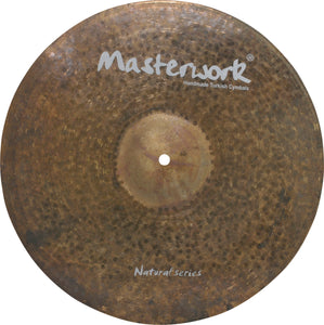 "Masterwork 19"" Natural Ride Sizzle-Rivets"