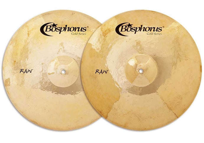 Bosphorus 16-inch Gold Raw Hi-Hat