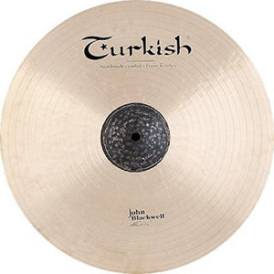 "Turkish Cymbals 19"" John Blackwell Thin Crash"
