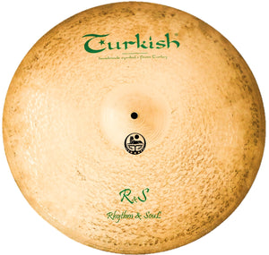 "Turkish Cymbals 18"" Rhythm & Soul Crash"