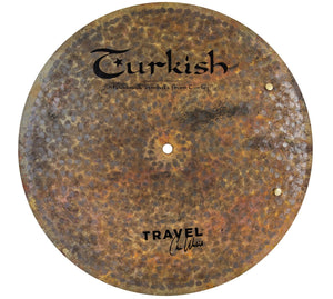 "Turkish Cymbals 16"" Travel Flat Ride Sizzle"