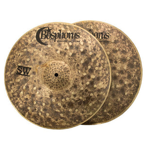 Bosphorus 14-inch Syncopation SW Hi-Hat
