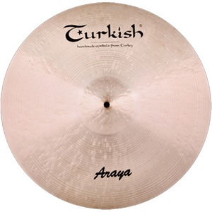 "Turkish Cymbals 16"" Araya Crash"