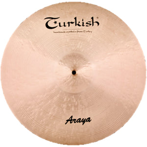 "Turkish Cymbals 22"" Araya Ride"