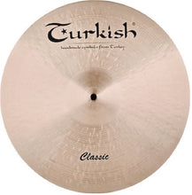 "Turkish Cymbals 20"" Classic Flat Ride"