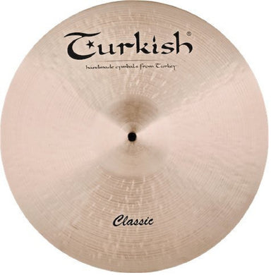 Turkish Cymbals 21-inch Classic Crash/Ride