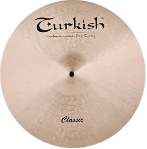 "Turkish Cymbals 21"" Classic Medium Ride"