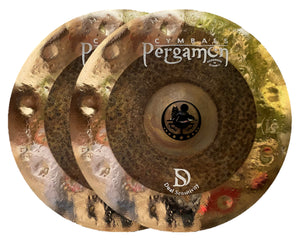 "Pergamon 14"" Dual Sensitivity Hi-Hat"