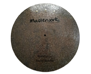 "Masterwork 22"" Natural Flat Ride Sizzle-Rivets"