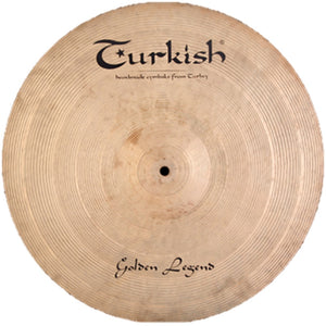 "Turkish Cymbals 24"" Golden Legend Ride"