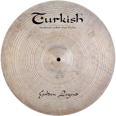 Turkish Cymbals 17-inch Golden Legend Crash