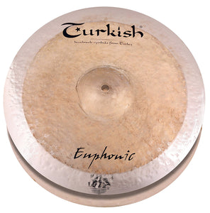 "Turkish Cymbals 15"" Euphonic Hi-Hat"