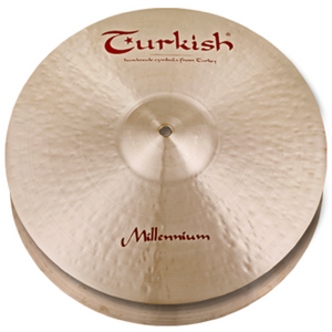 "Turkish Cymbals 14"" Millennium Hi-Hat"