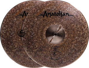 "Anatolian 14"" JC Brown Sugar Hi-Hat"