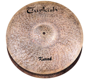 Turkish Cymbals 13-inch Kurak Hi-Hat Flat Hole