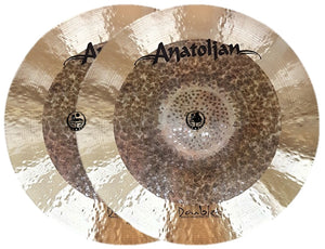 "Anatolian 16"" Doublet Medium Hi-Hat"