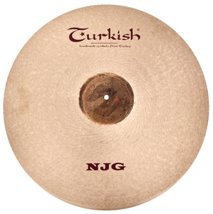"Turkish Cymbals 22"" NJG Medium Ride"