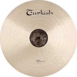 "Turkish Cymbals 22"" John Blackwell Jazz Ride"