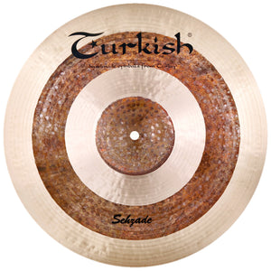"Turkish Cymbals 22"" Sehzade Jazz Ride"