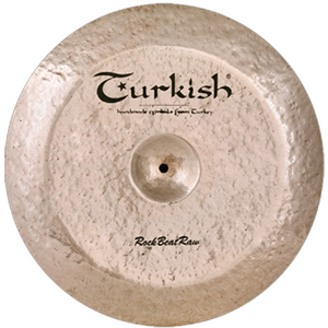 "Turkish Cymbals 17"" Rock Beat Raw China"