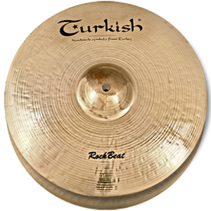 "Turkish Cymbals 13"" Rock Beat Hi-Hat Rock"