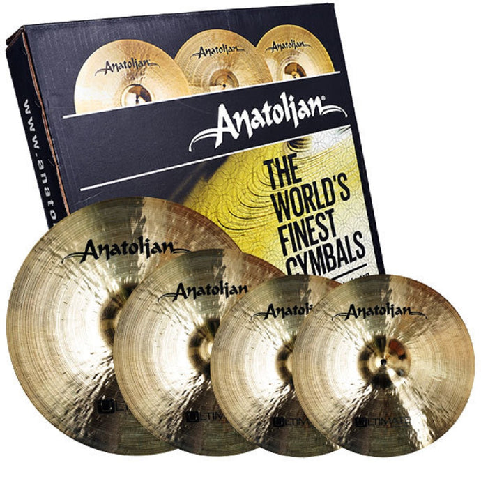 Anatolian Ultimate Cymbal Pack Box Set
