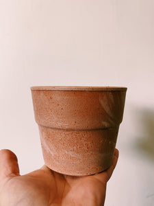 Italian Terracotta - Cylinder with lip, Sand