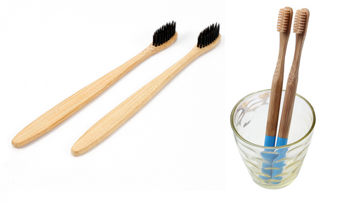 Bamboo Toothbrushes - great alternatives to plastic toothbrushes
