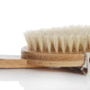 Premium Natural  Bamboo Body Brush - With Removable Long Handle - One Planet Zero