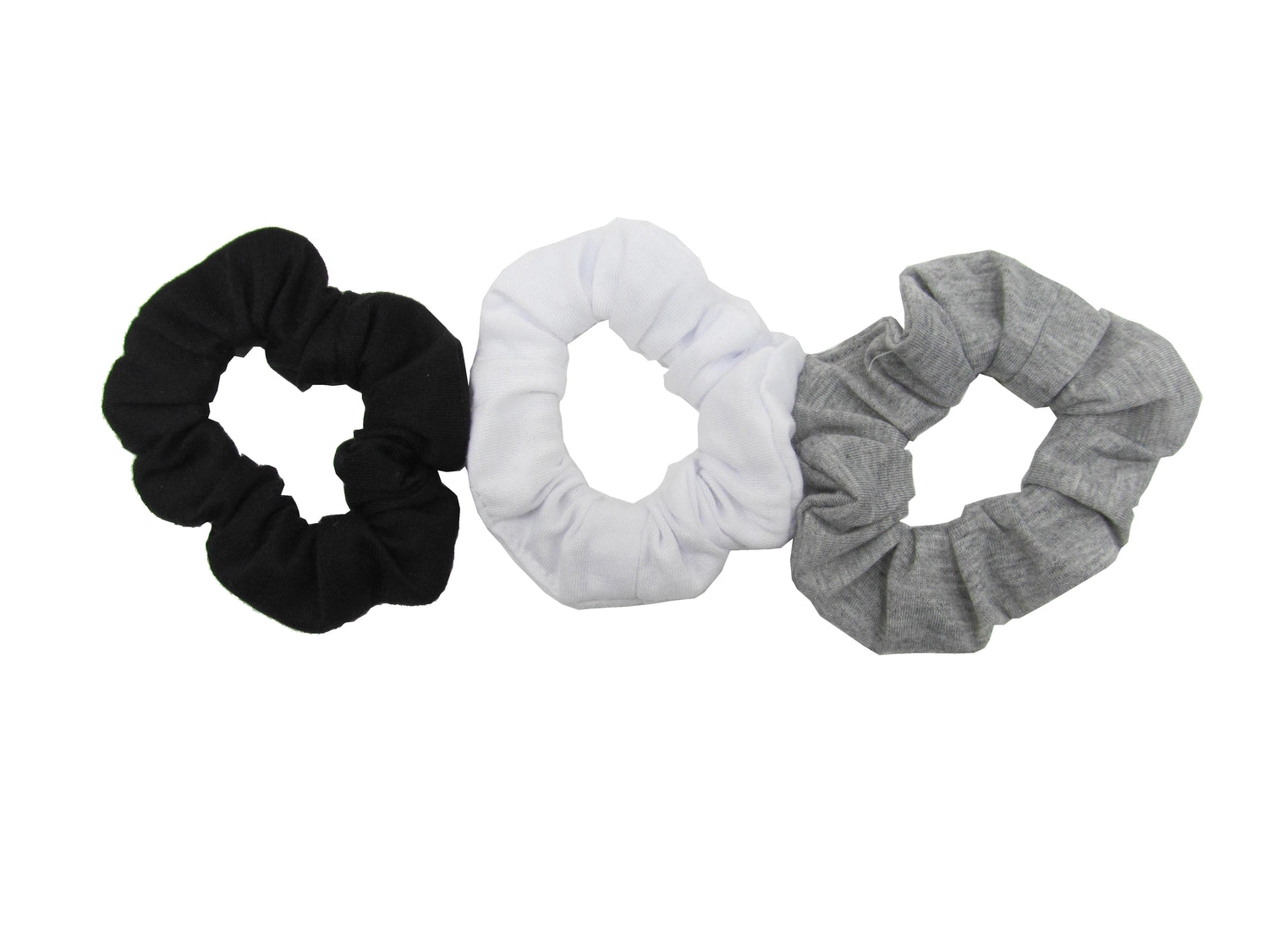 Pulse Professional 3pk Scrunchie Black Mix
