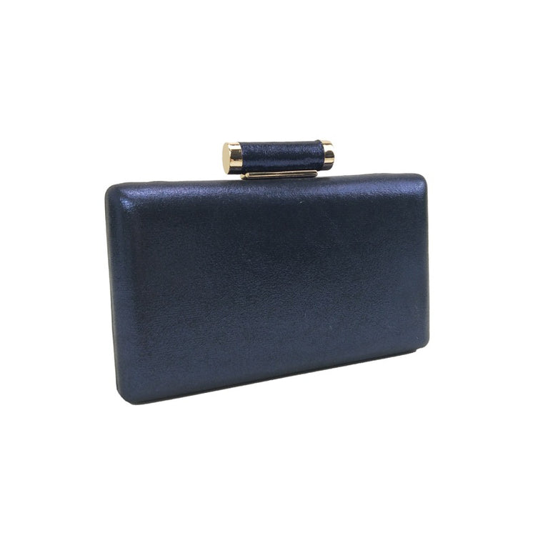Clutch bag shimmer navy