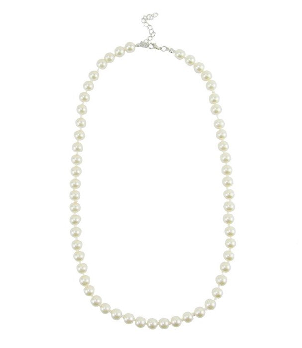 Classic Pearl Necklace Short