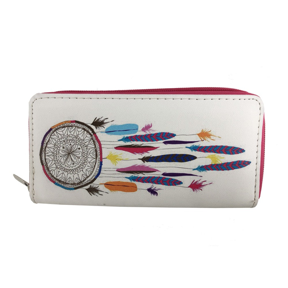 Dreamcatcher print wallet