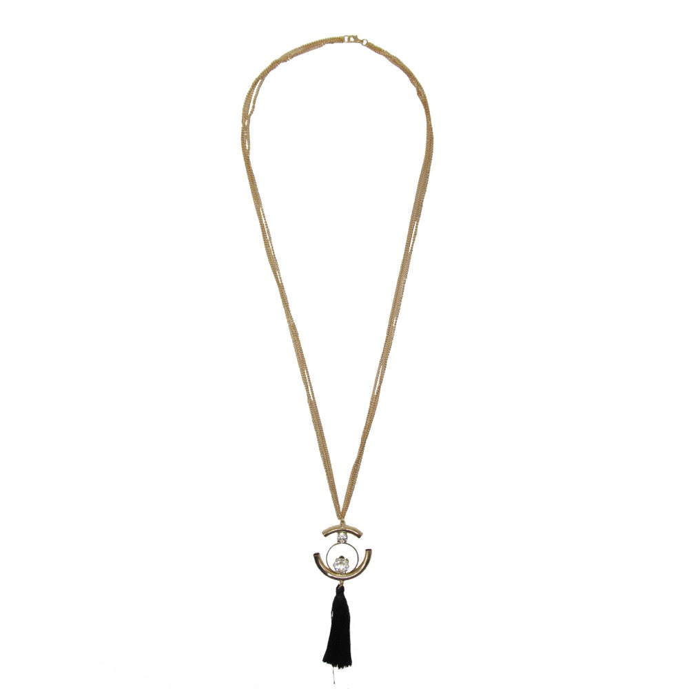 Long Tassel Necklace Colour