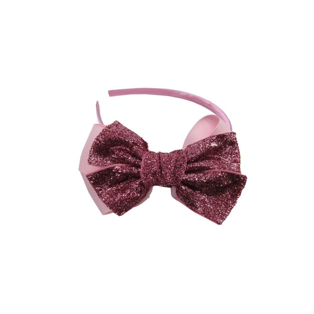 Sparkle Bow Hairband