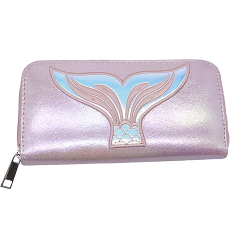 Sparkle Mermaid Accessory Wallet Pink