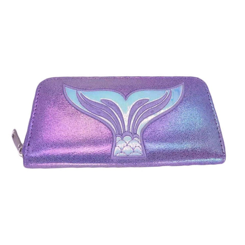 Sparkle Mermaid Accessory Wallet Purple