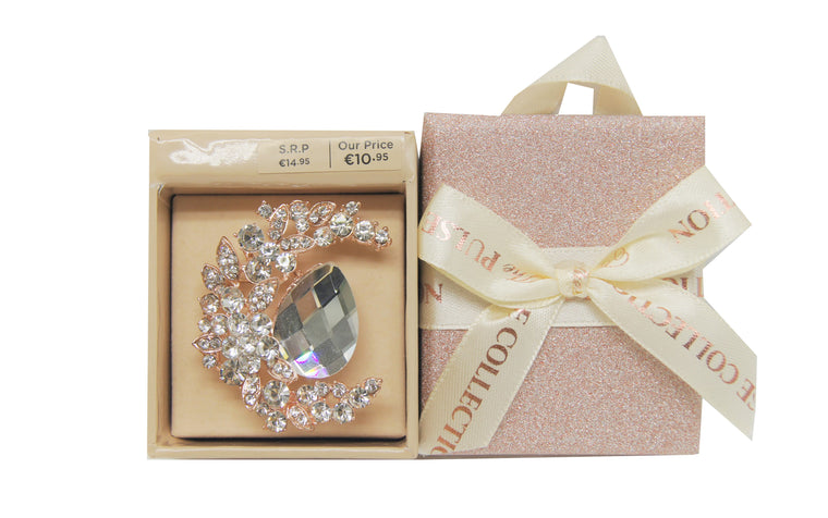 Pulse Gift Box Brooch
