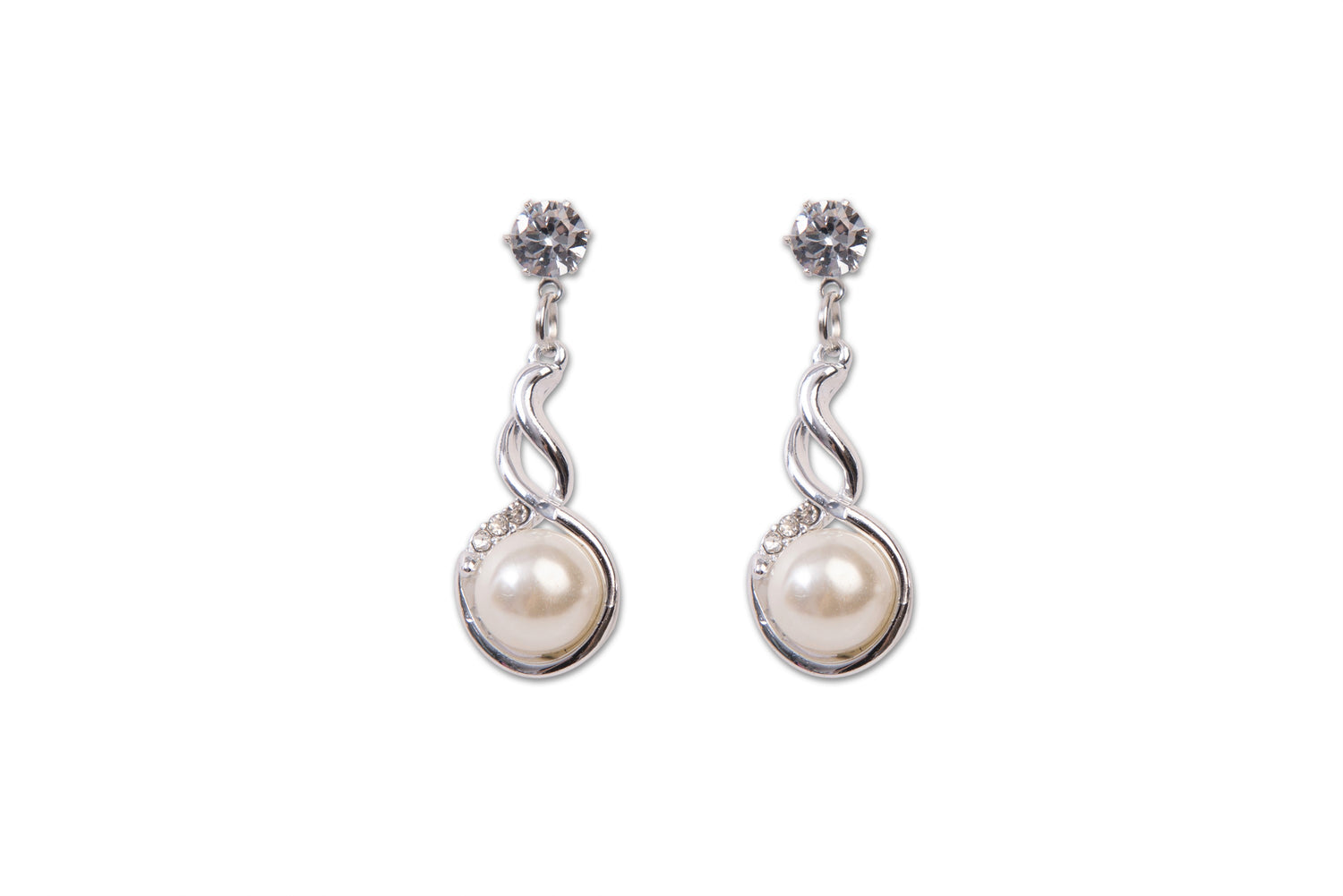 Drop Earring With Pearl