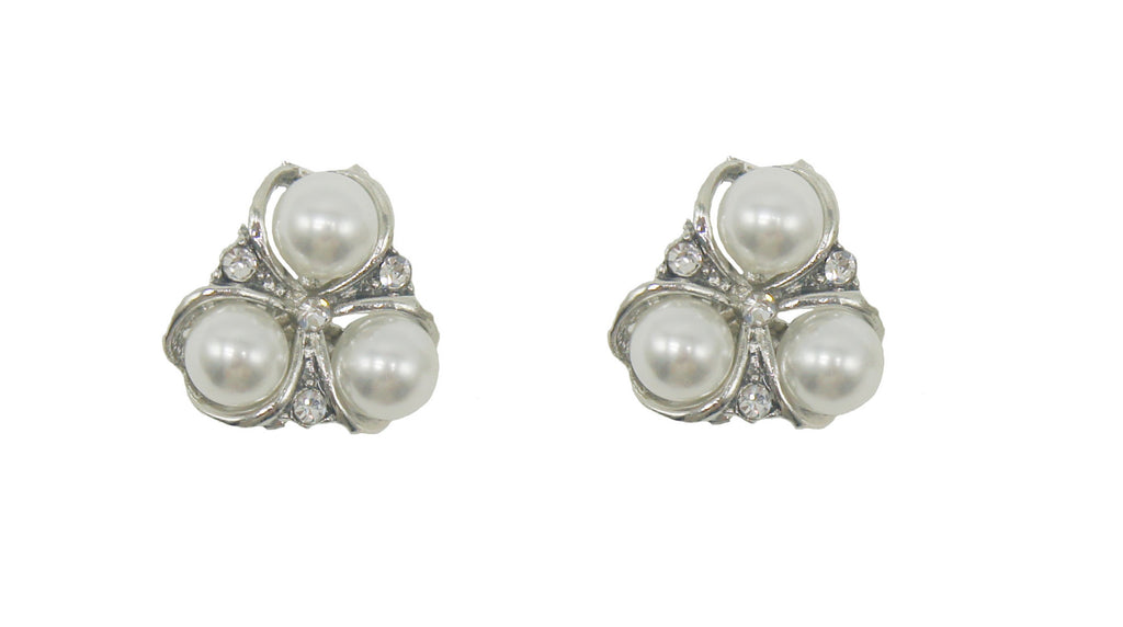 Clip On Earring Pearl Detail