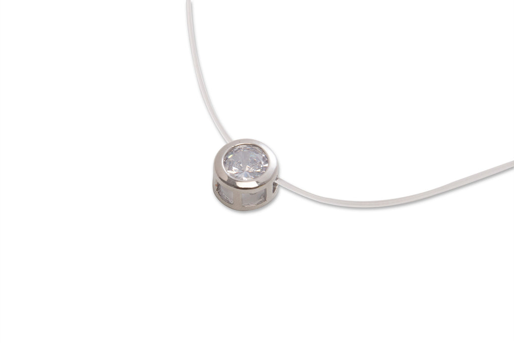 Floating Pendant Necklace