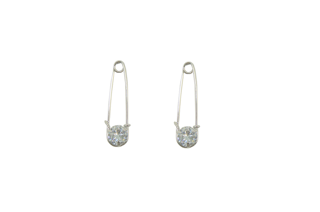 CZ Pin Drop Earring
