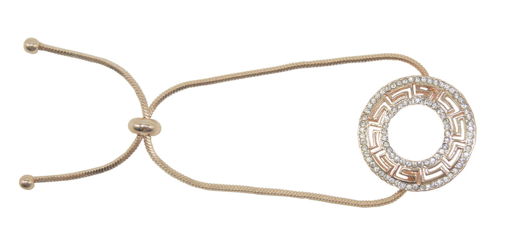 String Bracelet Rose Gold