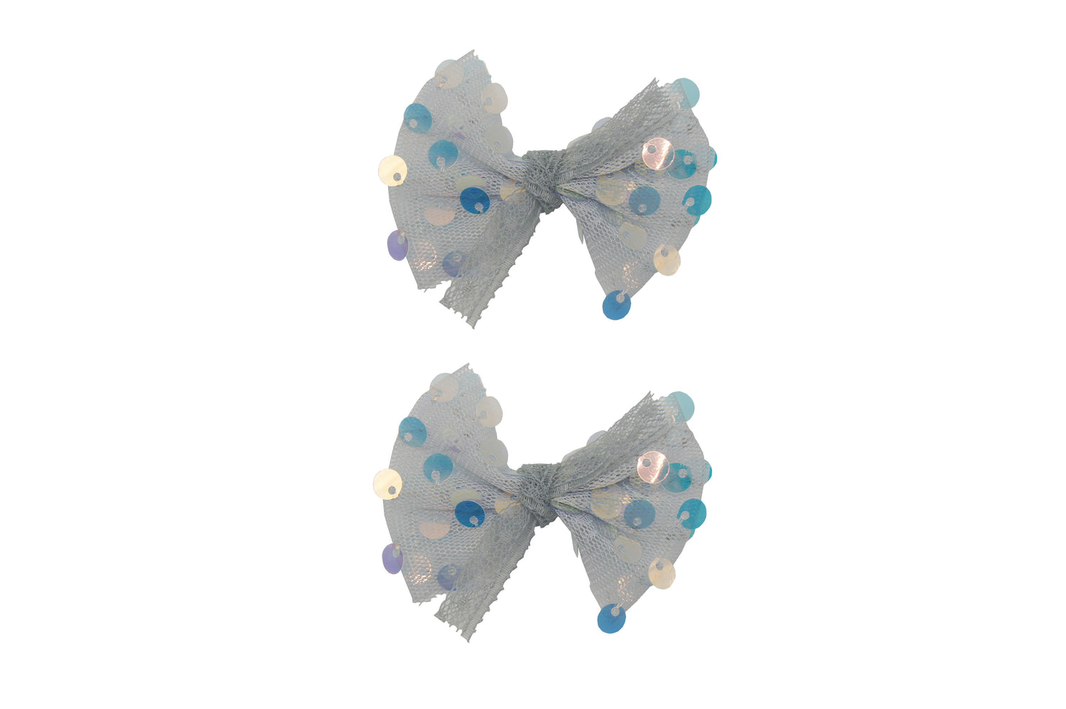 Sparkle 2pk Sequin Bow Croc