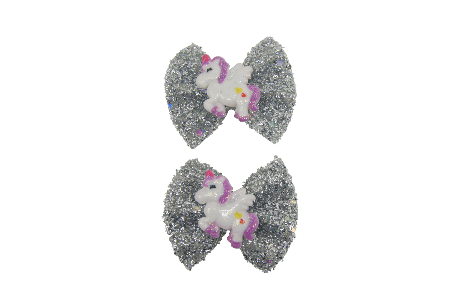 Sparkle 2pk Unicorn Bow Croc