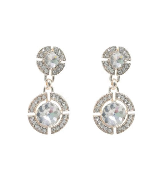 Crystal Earring Rose Gold